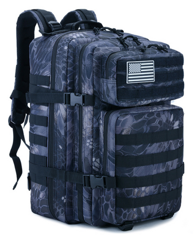 55L Grizzly Tactical Backpack Python Black