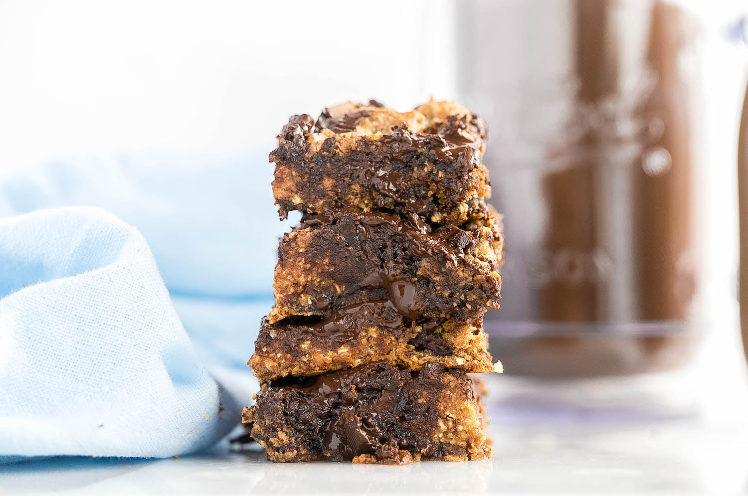 Almond Butter & Oat Chocolate Chip Bars - $6