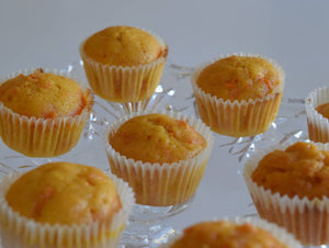 Mini carrot Muffins - $9.99/4Pcs