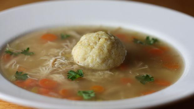 Chicken Matzo Ball Soup - $14.99/Qt