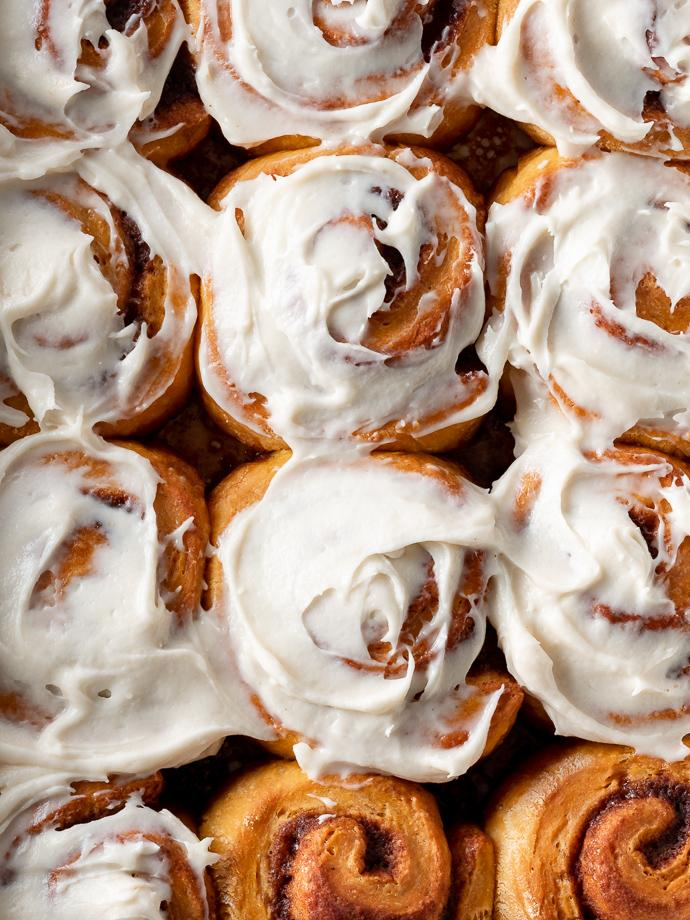 Frosted Cinnamon Buns - $24.99/9x13