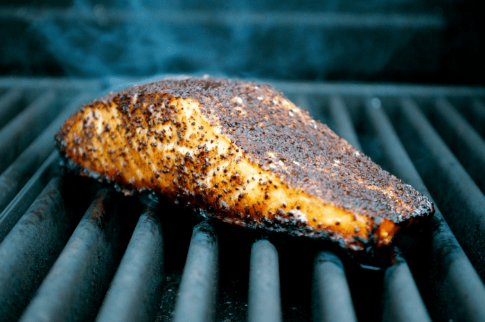 Bourbon & Coffee Salmon - $12.99/Lb