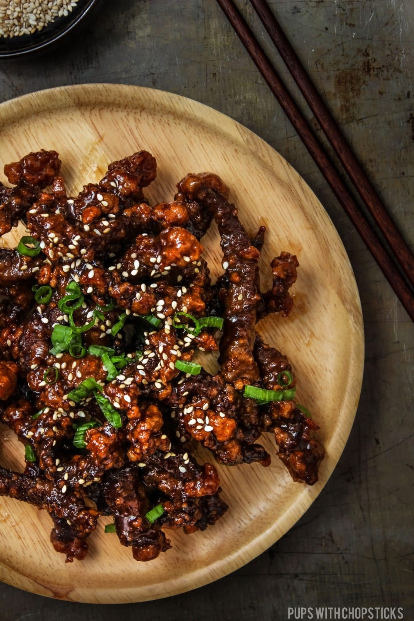 Crispy Mongolian Beef Bowl - Choice of Grain