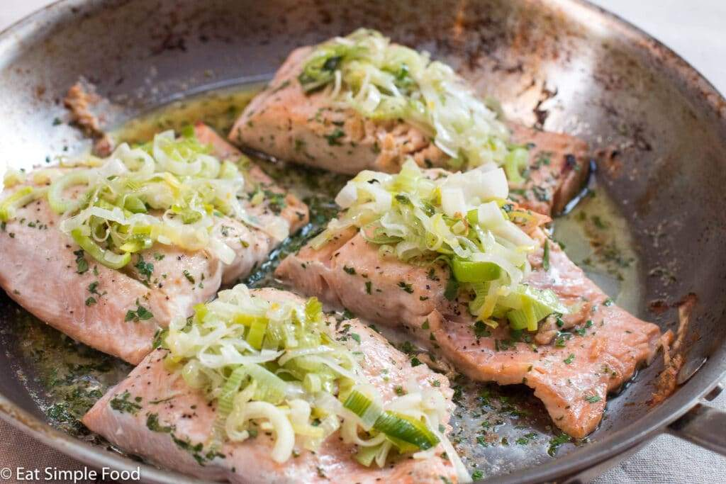 Garlic Leek Salmon - $14.99/Lb