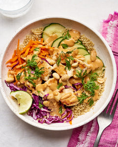 Peanut Chicken Bowl - $15