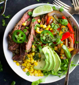 Gremolata Steak Quinoa Bowl - $12.99