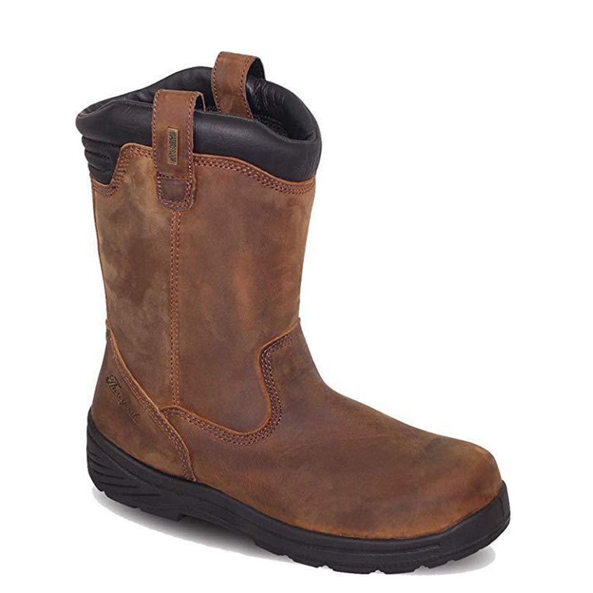 Thorogood Men's Thoro-Flex 11in Pull-On Wellington, Waterproof Composite Safety Toe Boot 804-3169