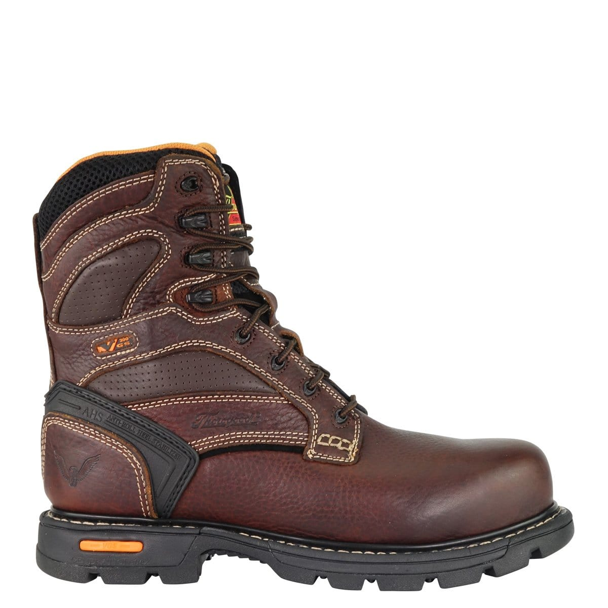Thorogood Gen-Flex2 8in Composite Safety Plain Toe Boots 804-4448