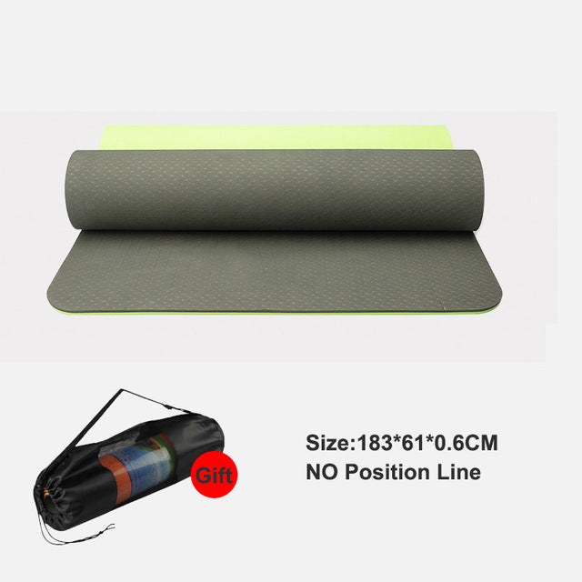 Body Alignment Yoga Mat