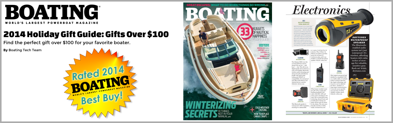 Drytunes Boating Magazine