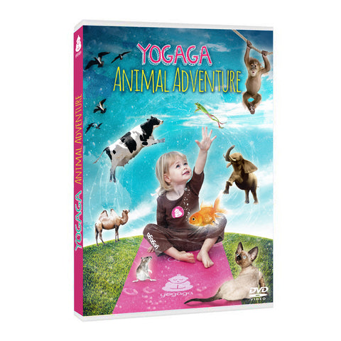 Yogaga Animal Adventure DVD