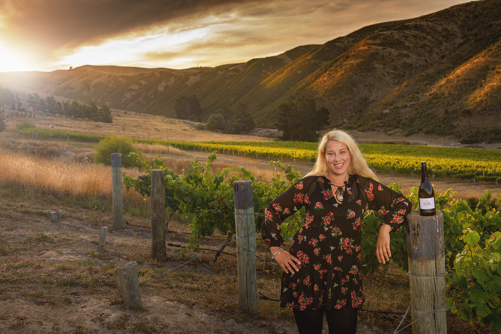 Eva Pemper founder and winemaker Ep Wines in Marlborough, New Zealand