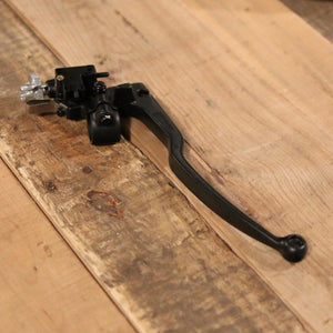 Clutch Lever Assembly w/Switch Black - Cognito Moto