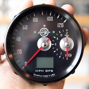 Cognito Moto GPS Speedo and small Tach
