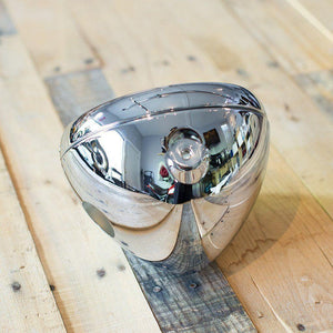"Headlight Shell 7"" British Style- Chrome"