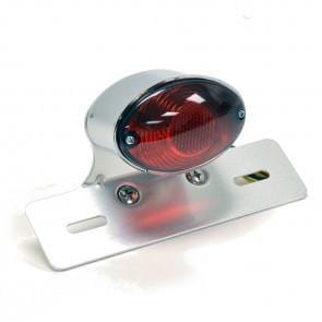 Single Medium Cateye Tail Light - Cognito Moto