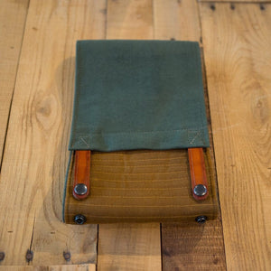 Handmade Canvas Magnetic Tank Bag (Green)