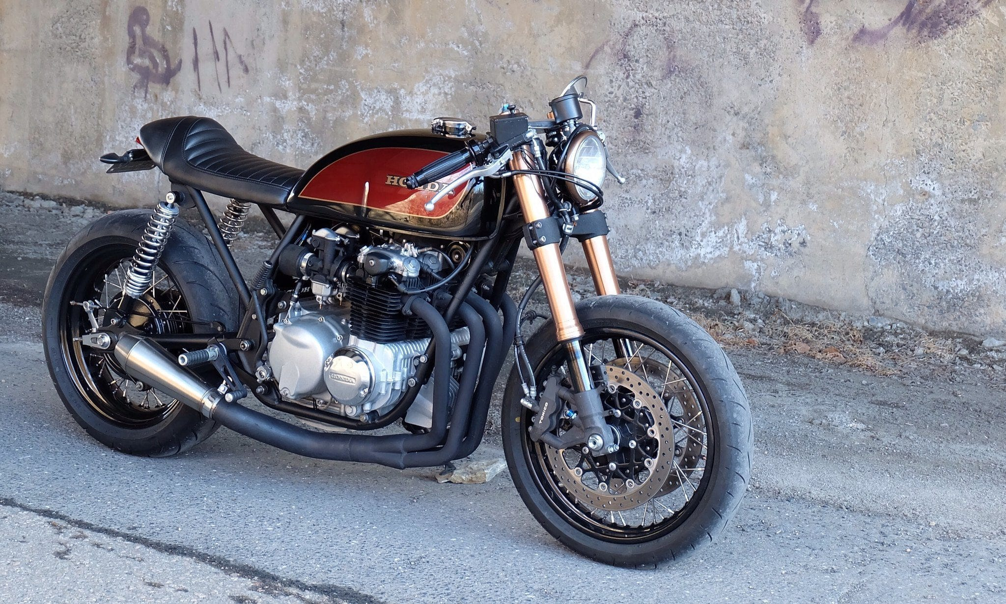 Custom Cafe Racers and Parts  GSXR front end Conversion Specialists