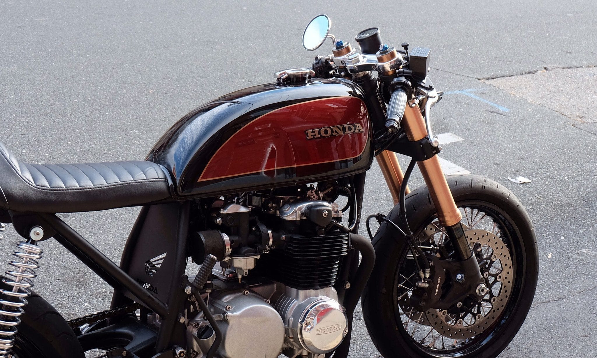 Custom Cafe Racers and Parts  GSXR front end Conversion