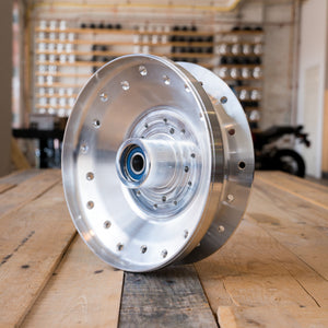 BMW Airhead Lace Hub Conversion R100 with Factory Rear disc - 1978-1984