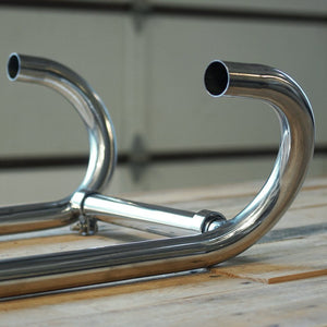 BMW R-Model 70-84 Head Pipes 38mm Stainless Steel