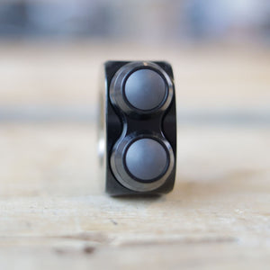 mo.Switch Basic 2 Button, Black, Black Inlay
