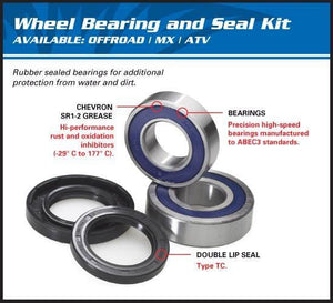 All Balls Wheel Bearing & Seal Kit for GSX-R Front Hub Conversion - Cognito Moto