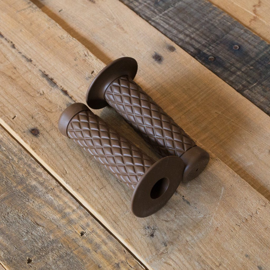 Biltwell Thruster Grips - Chocolate