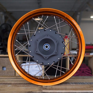 CX500 Rear Wheel with Disc Brake Conversion