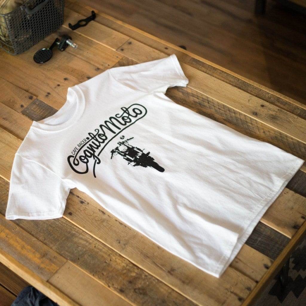 Cognito Moto Front End T-Shirt (White)