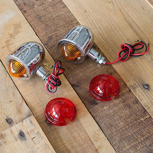Mini-Deco Lights Chrome - Turn Signal