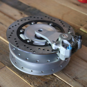 CX500 Rear Hub Disc Brake Conversion - Cognito Moto