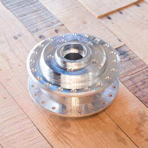 1989-1998 GSX-R750 & GSX-R1100 Hub Bolt-on Conversion Laced Wheel