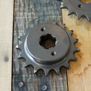 "17 Tooth 3/8"" Offset Sprocket 520 Chain for CB750 CB550 CB500T"