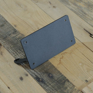 Strut Mount License Plate Bracket