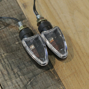 Turn Signals - Black/Clear