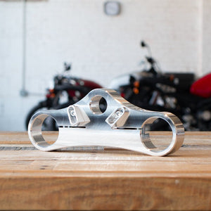 Custom Made Billet Lower Triple Clamp (For Any Fork)