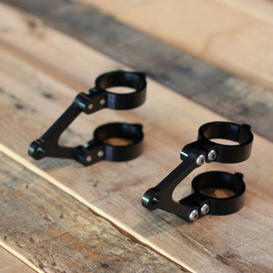 41mm Moto Demic Headlight Brackets (Triumph) - Cognito Moto