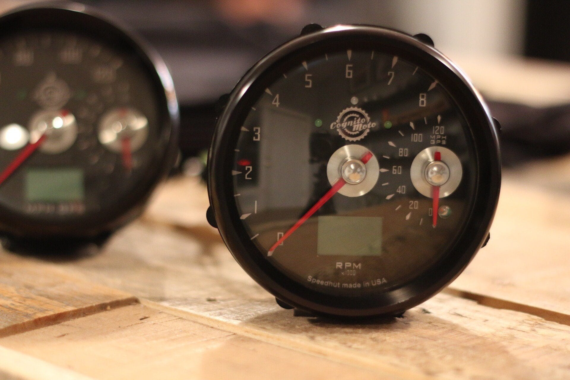 Gauges Cognito Moto Tacho Connecting Wiring Diagram For Yamaha R1 04 06 Gps Speedo And Large Tach