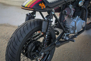 CB350 Weld on Swing arm extenders - Cognito Moto