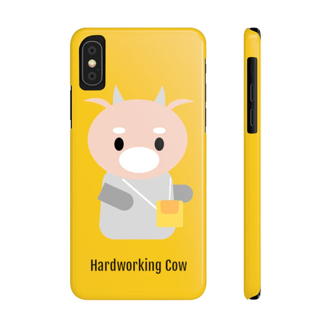 What's Wrong with Secretary Kim KDrama Merch Protective Slim Phone Cases (Yellow)