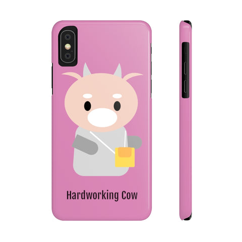 What's Wrong with Secretary Kim KDrama Merch Protective Slim Phone Cases (Pink)