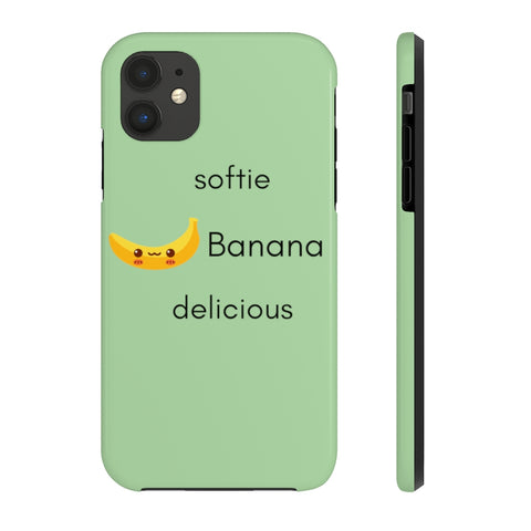 Romance of Tiger and Rose Custom Big-Softie Banana Phone Cases