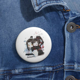 The Untamed Sharing Hugs Custom Pin
