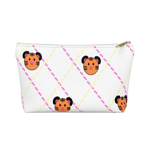The Romance of Tiger and Rose Makeup Accessory Pouch