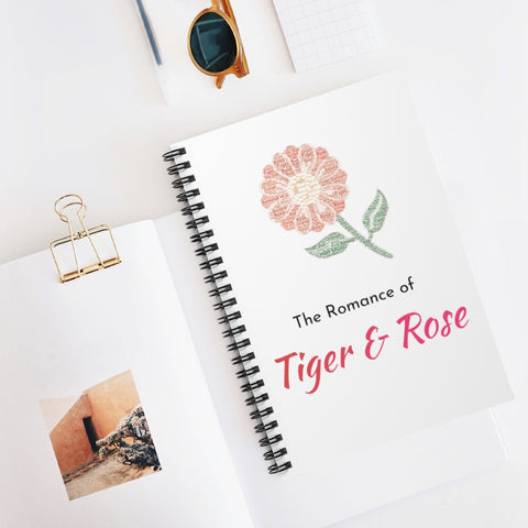 Romance of Tiger and Rose CDrama Merch Spiral Notebook