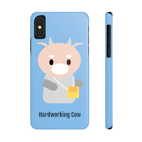 What's Wrong with Secretary Kim KDrama Merch Protective Slim Phone Cases (Baby Blue)