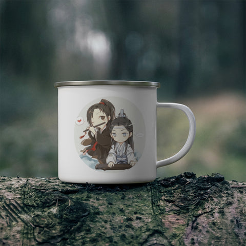 The Untamed (Mo Dao Zu Shi) Enamel Camp Mug