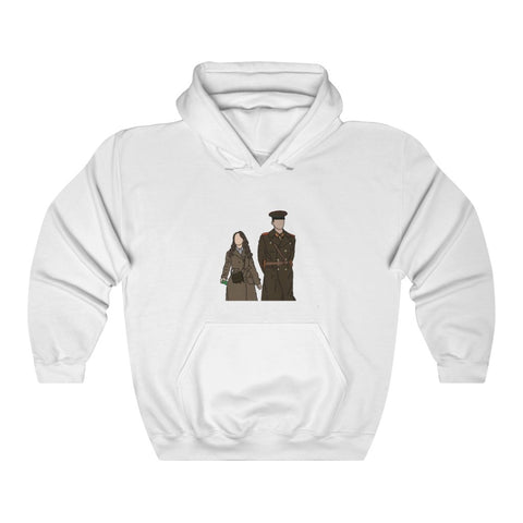 Crash Landing on You Kdrama Ri Jeong-hyeok and Yoon Se-ri Hoodie