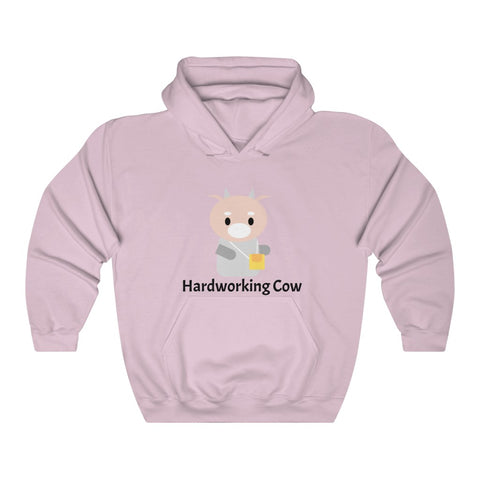 What's Wrong with Secretary Kim Cozy Hardworking Cow Hoodie